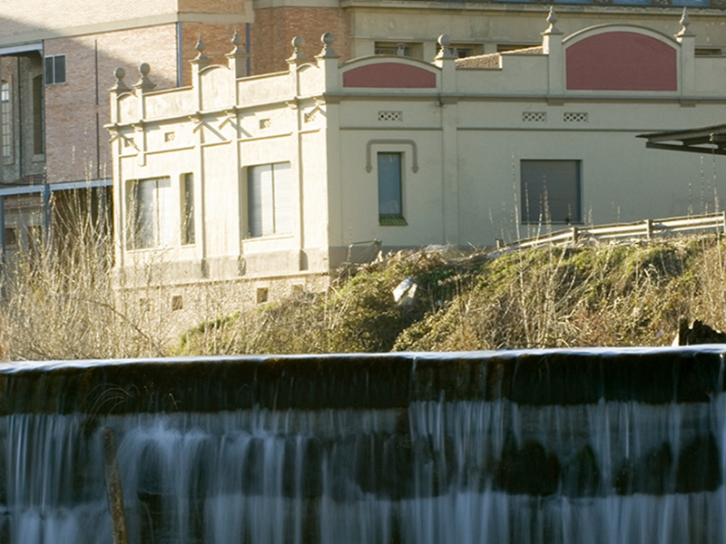 Canal industrial del Ter