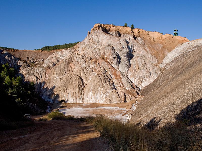 Mina i muntanya de sal de Cardona