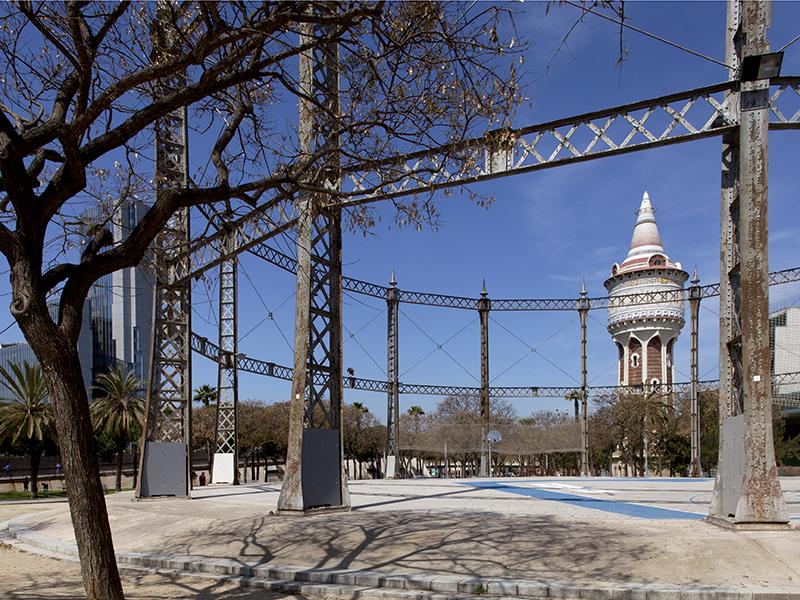 Antigues instal·lacions de Catalana de Gas