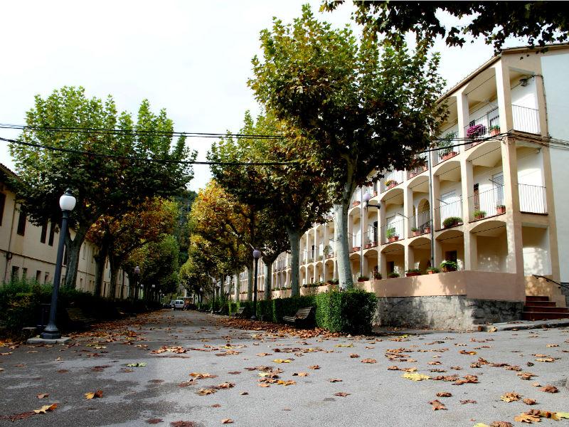 Habitatges obrers de la colònia Viladomiu Nou